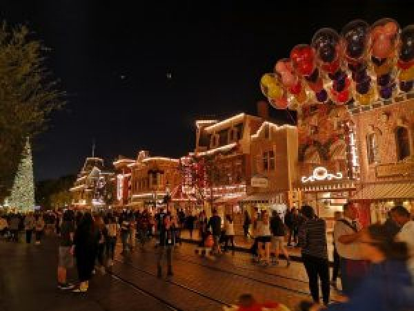 Main Street USA Disneyland ParkCalifornia