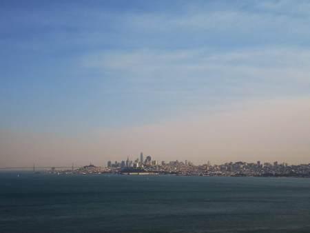 Golden Gate Bridge View Vista Point
