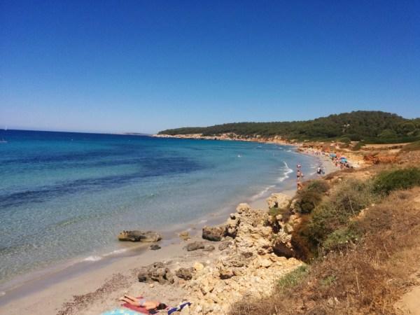 Las mejores playas de Menorca Binigaus
