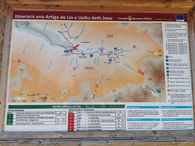 Excursión a Uelhs delth Joeu y la Artiga de Lin