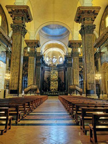 Interior de la Catedral de Vic