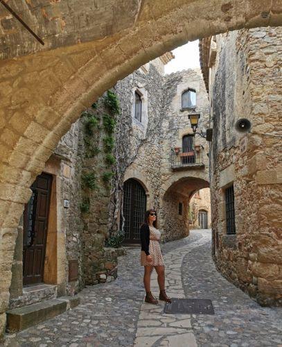 pueblos medievales Girona Pals