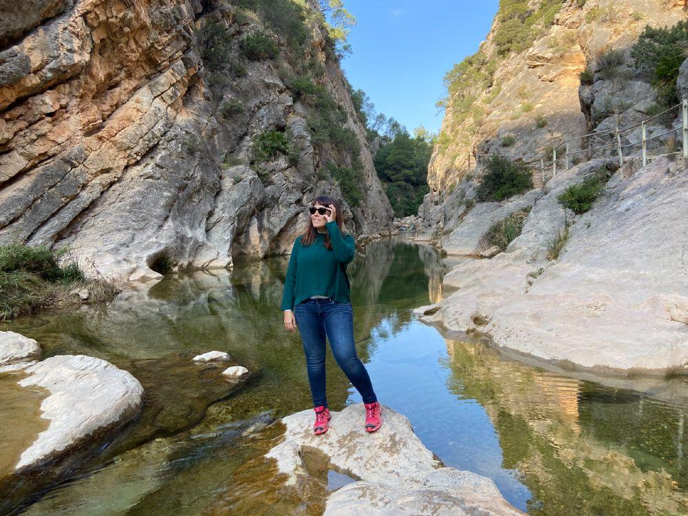 Piscinas naturales y pozas Fontcalda