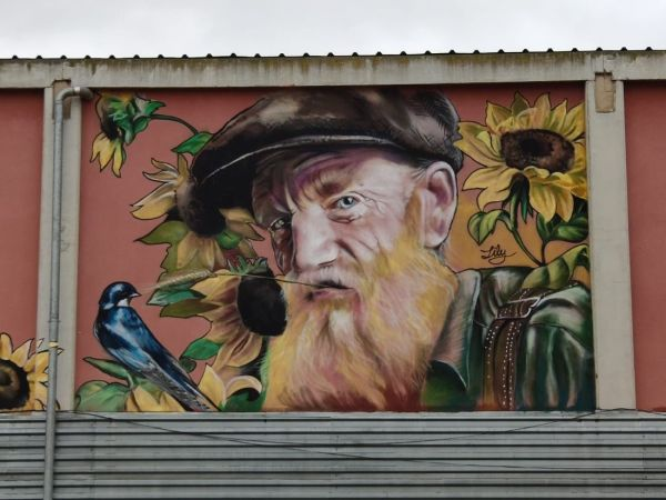 Penellas pueblo street art Cataluña