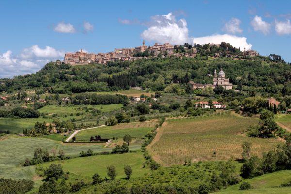 ruta coche Toscana