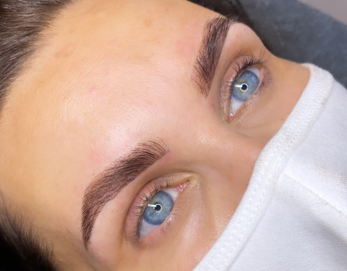 After Powder Brows Treatment