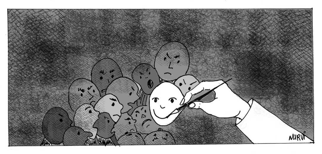 Dibuixant somriures / Drawing Smiles