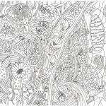 図鑑の花の塗り絵