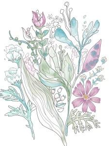花の塗り絵