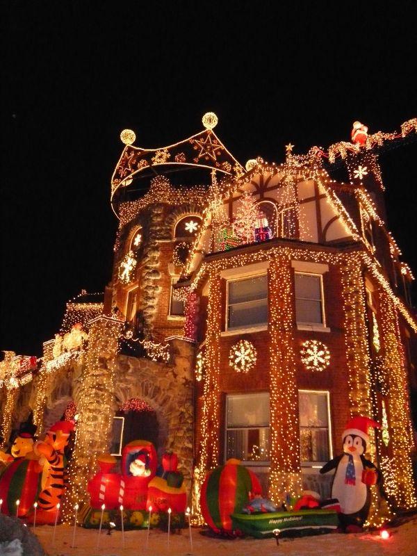 Boston Christmas Castle