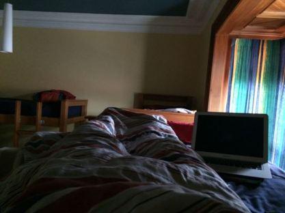 Mein Bett im 6-Bett Zimmer