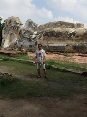 Reclining Buddha Ayutthaya City