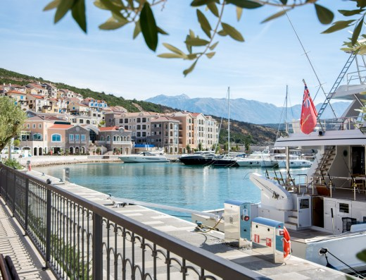 Luxury seaside development Montenegro
