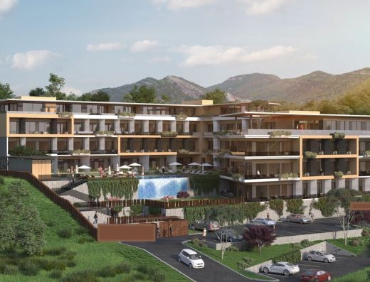 Exclusive Tivat development
