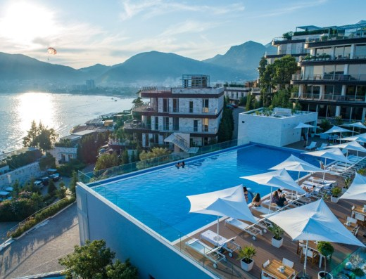 amazing pool property budva