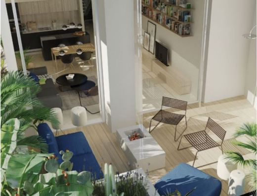 modern interior loft budva