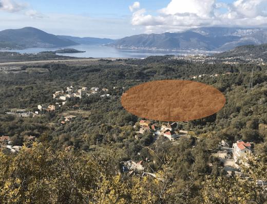Land for sale Kotor Tivat Montenegro