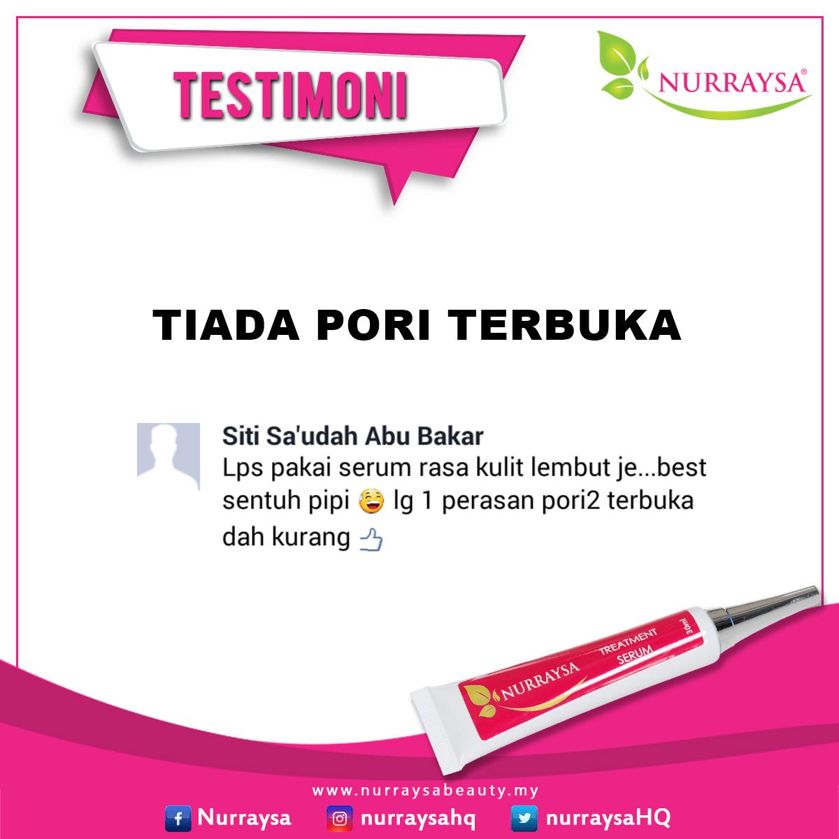 TreatmentSerum Siti Sa'udah
