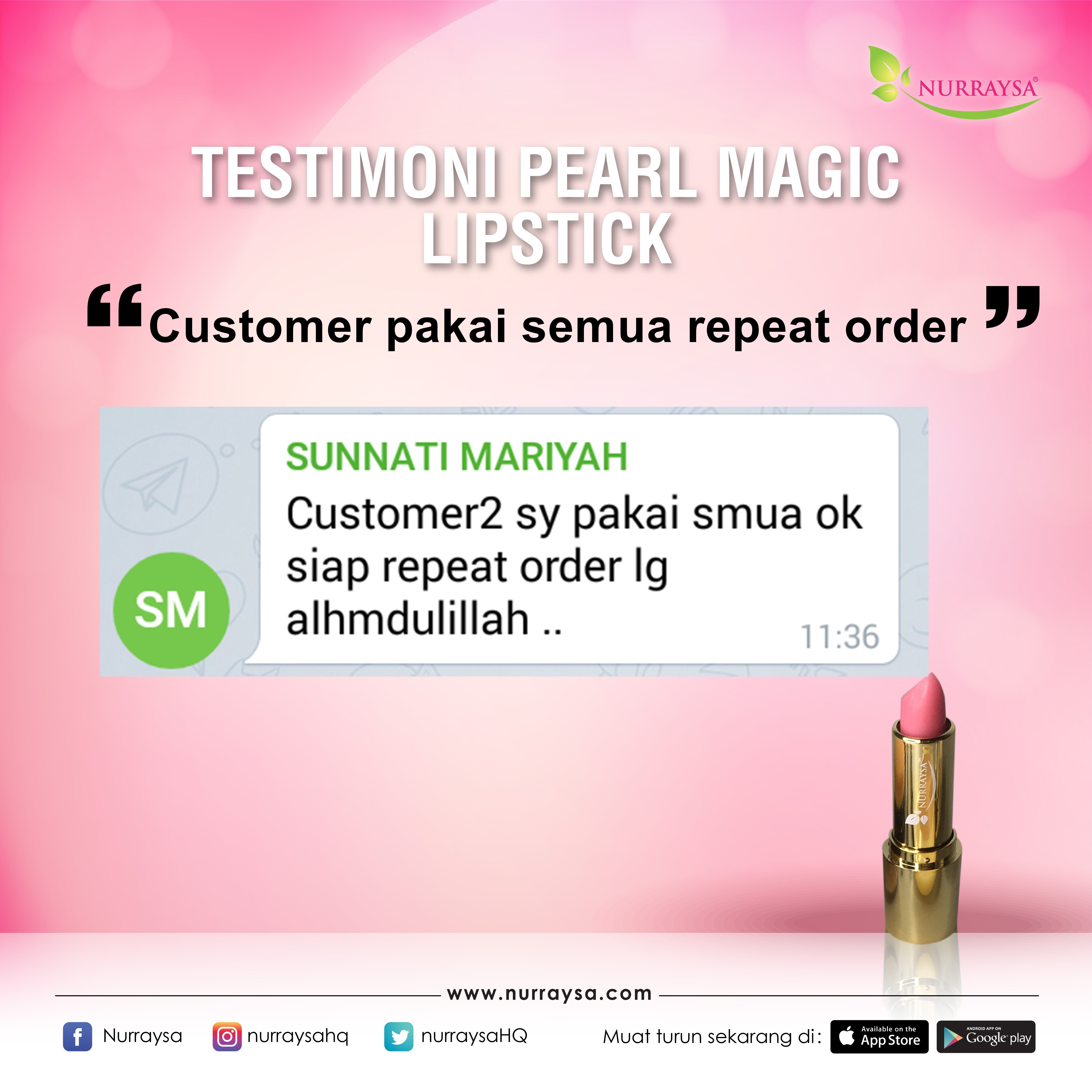 Testimoni Magic Lipstick 11