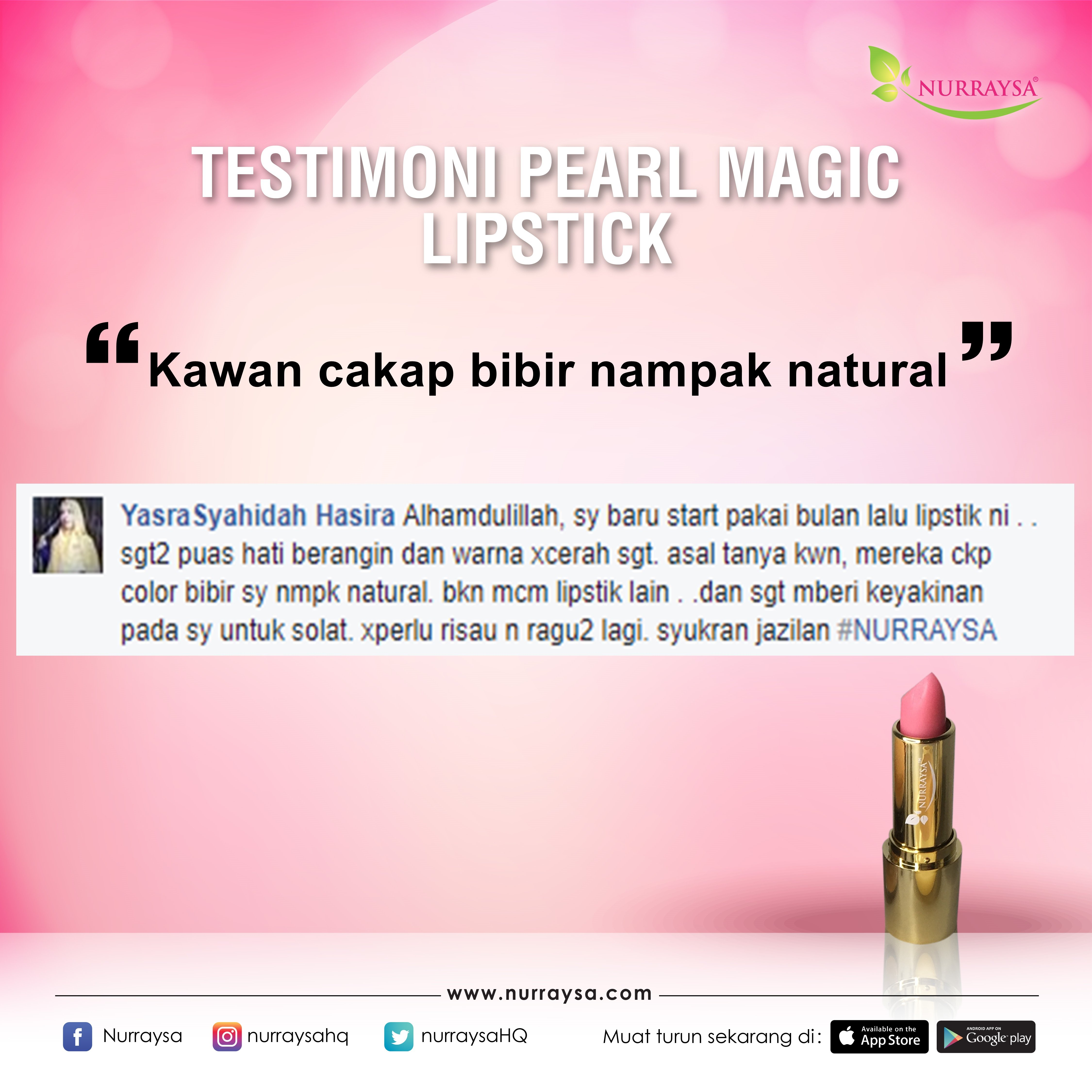 Testimoni Magic Lipstick 16