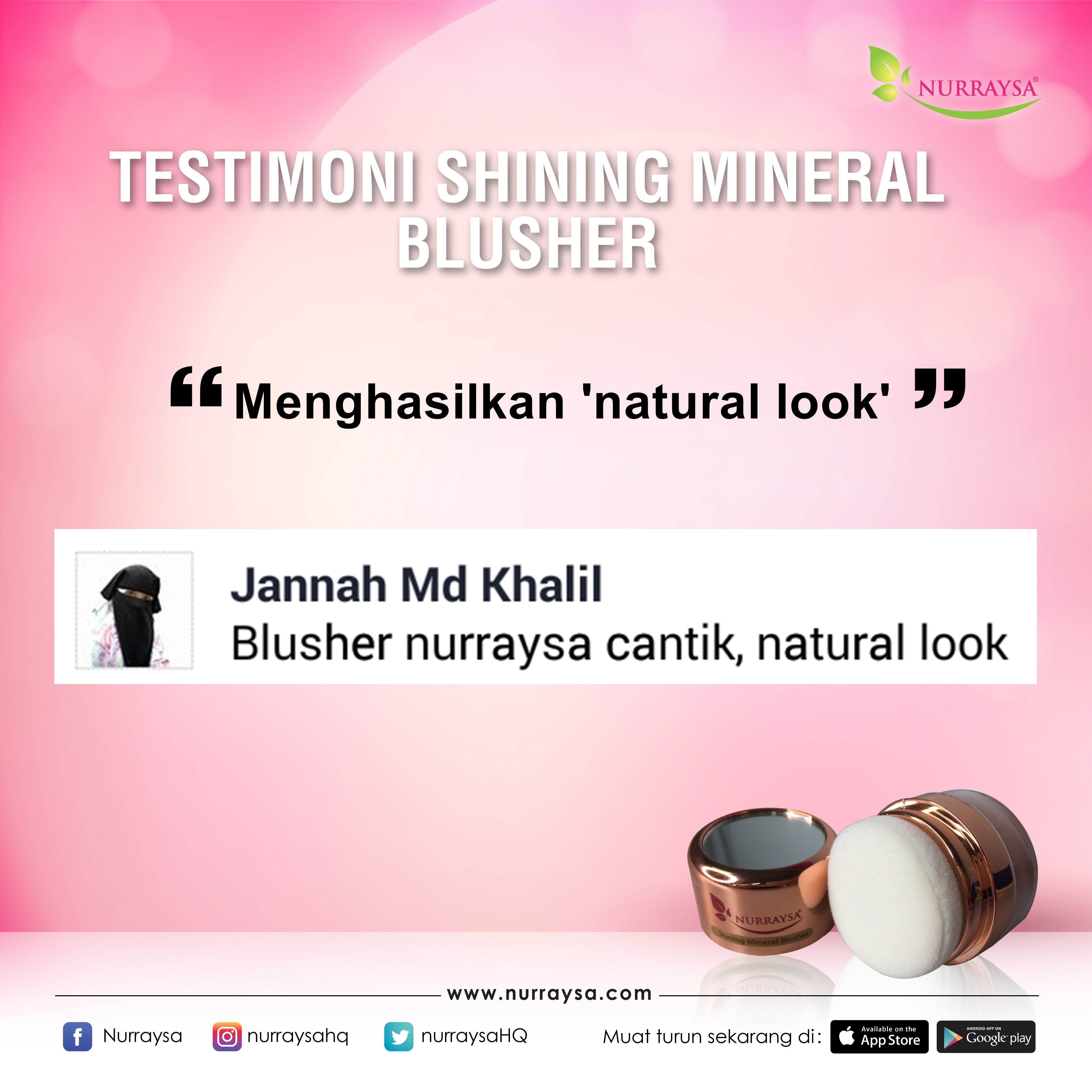 Testimoni Mineral Blusher 3