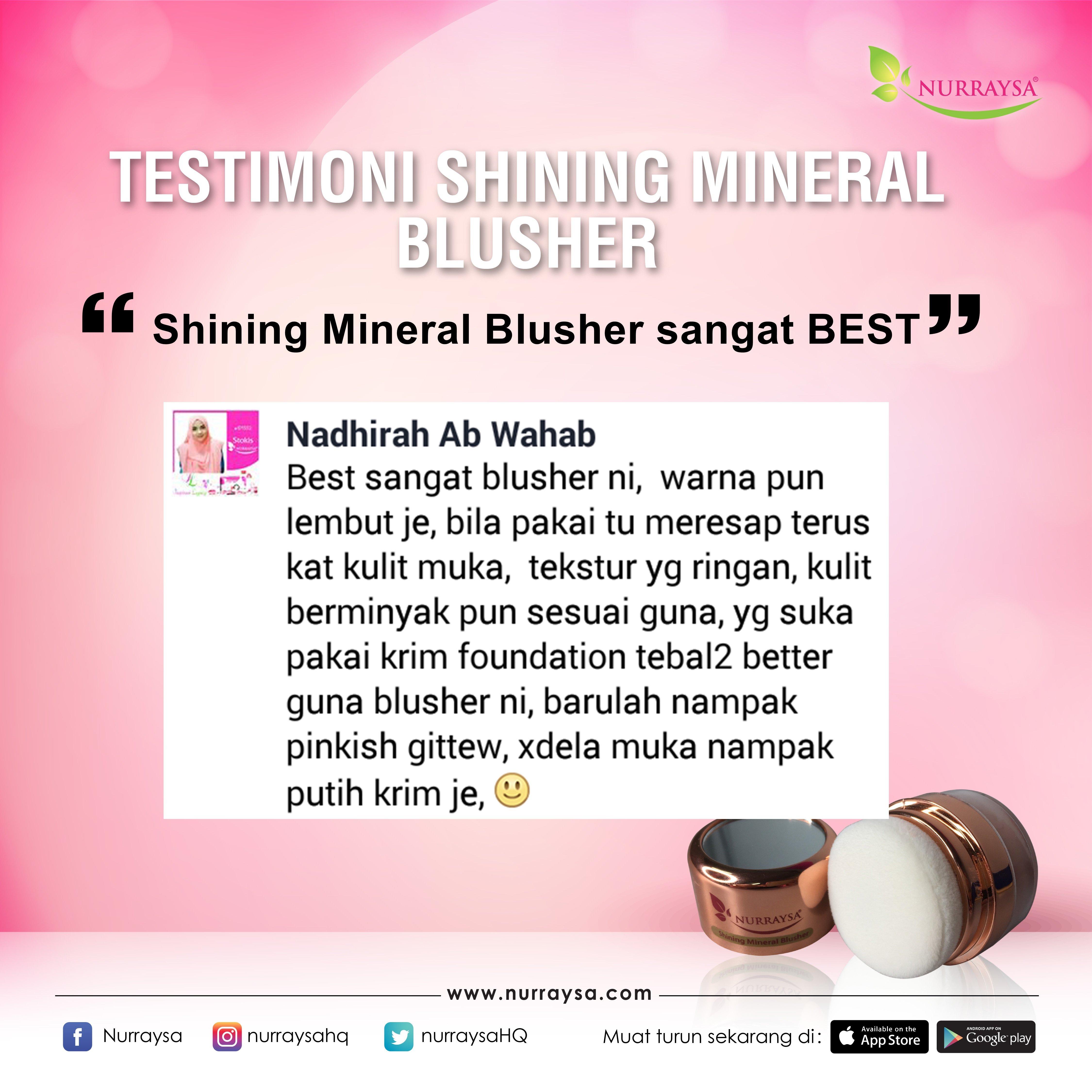 Testimoni Mineral Blusher 8
