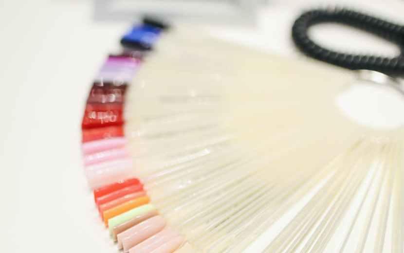 artificial nail samples