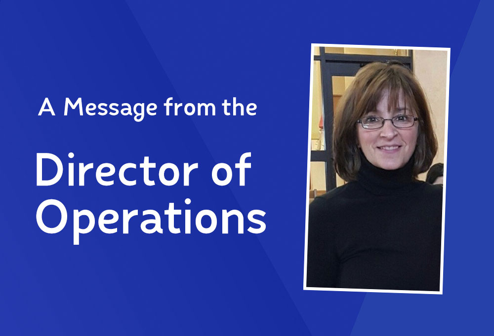 A Message from Michele Ruggiero, NCS Director of Operations