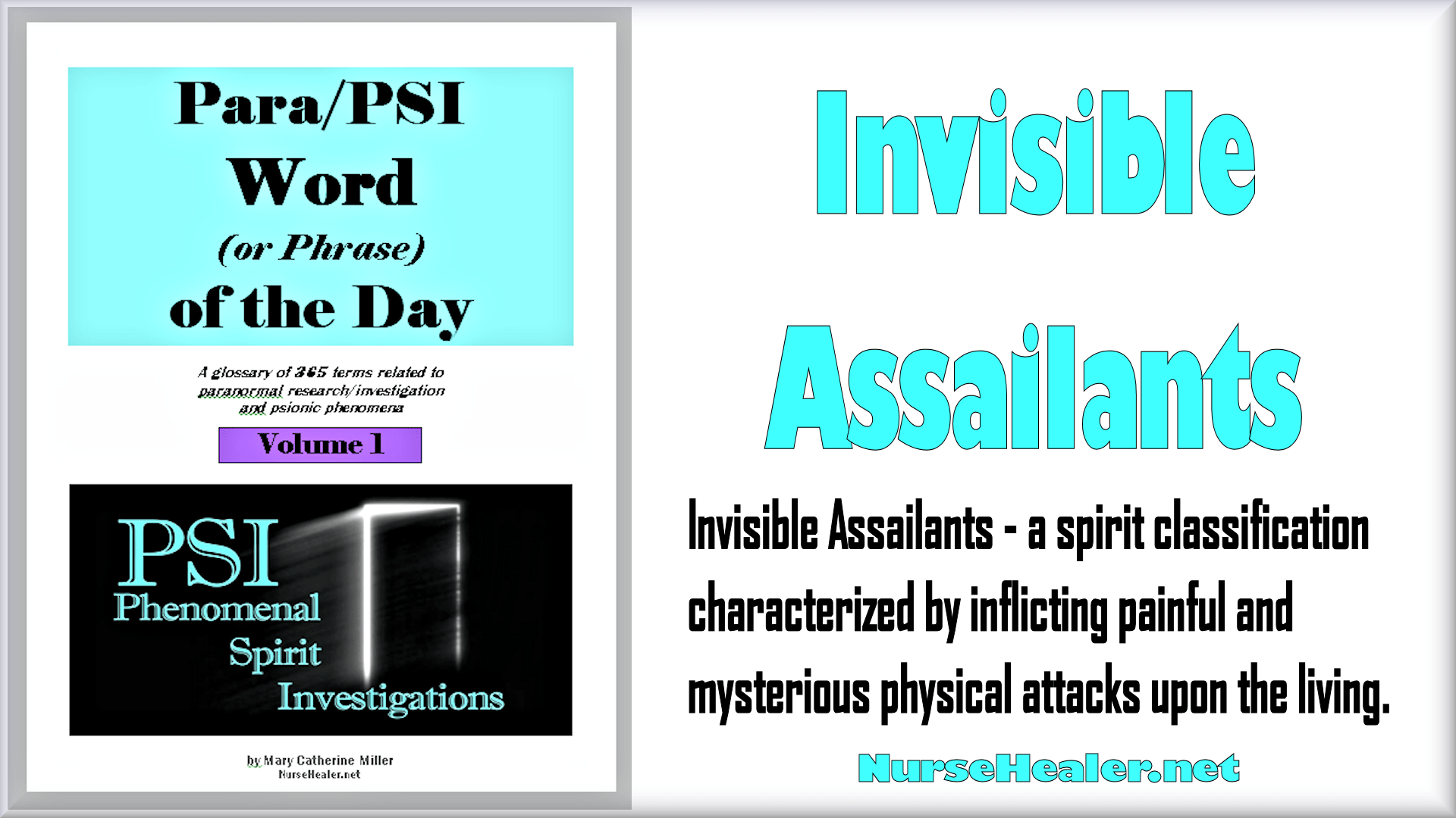 Para/PSI Word/Phrase of the Day