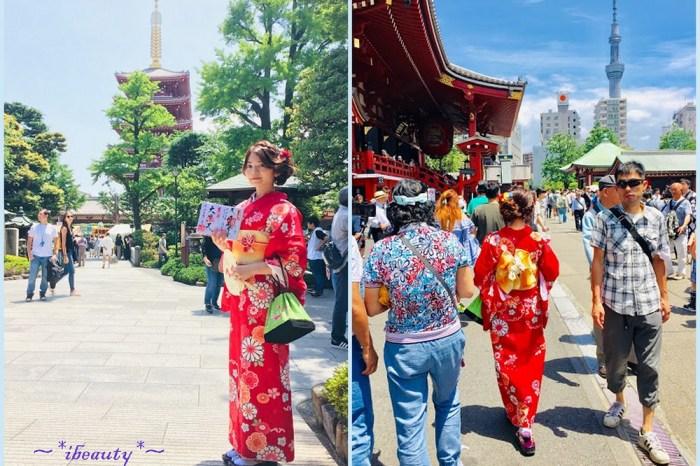 東京 觀光客必須!淺草雷門八重和服體驗