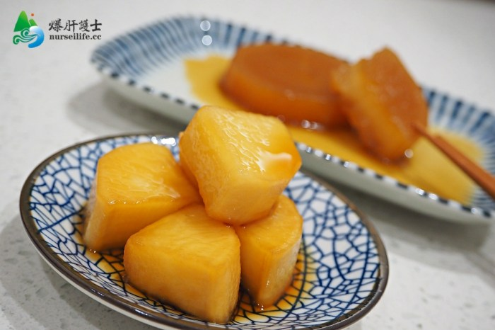 家常開胃菜、下酒菜:滷蘿蔔和醃蘿蔔