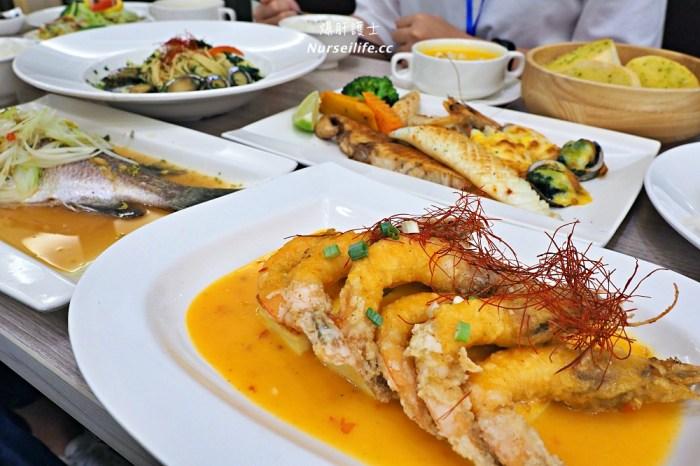 洋昇水產料理坊.天母九孔無毒蝦專賣店還有超值海鮮定食