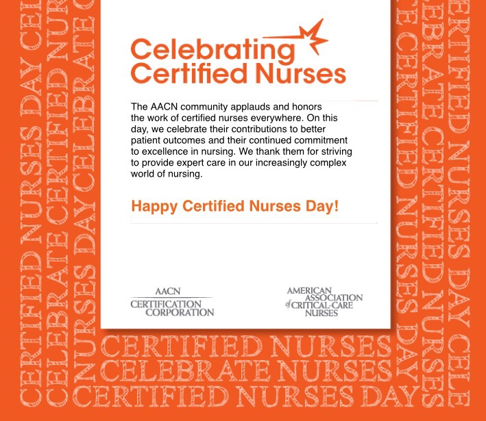 National Certified Nurses Day Nurse Jess