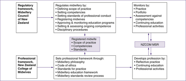 Professional frameworks for practice in Australia and New