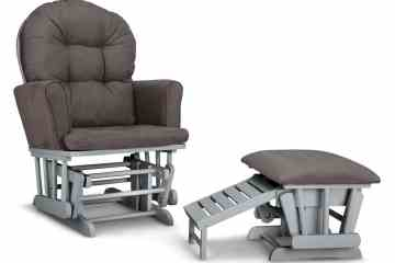 Graco Parker Semi-Upholstered Glider and Nursing Ottoman Review