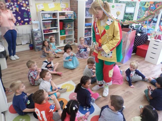 pre-school nursery party