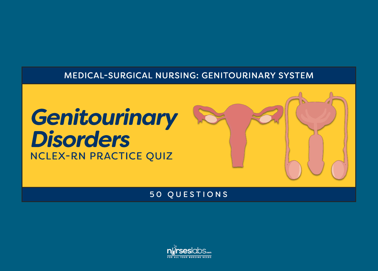 Genitourinary System Disorders Nclex Practice Quiz 1 50 Questions