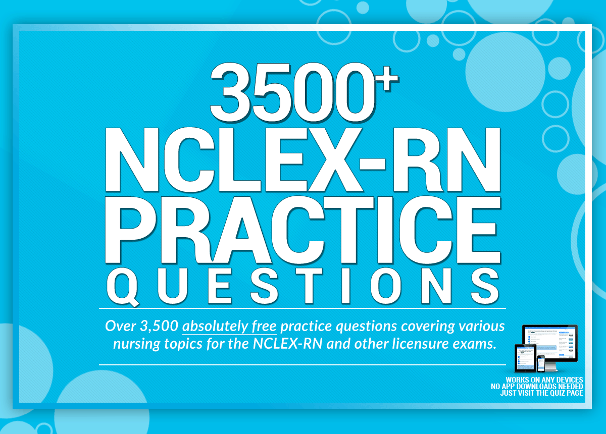 Nclex Practice Questions For Free Nurseslabs