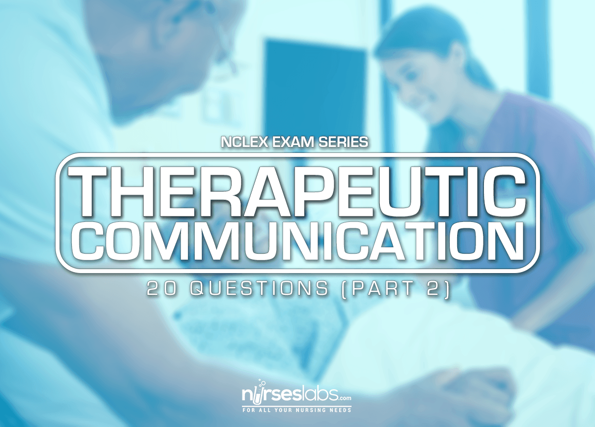 The Utic Communication Questions For Nclex 2 20 Items