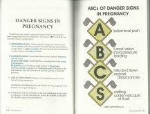 ABC's of Pregnancy Danger Signs