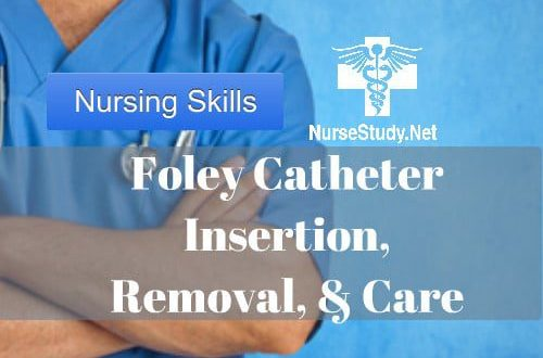 Foley Catheter insertion for nursing students