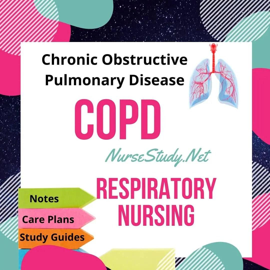 COPD Chronic Obstructive Pulmonary Disease Pathophysiology ...