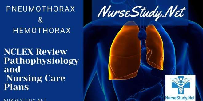 Pneumothorax and Hemothorax