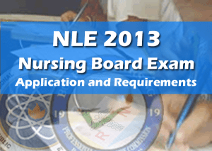 nle requirements