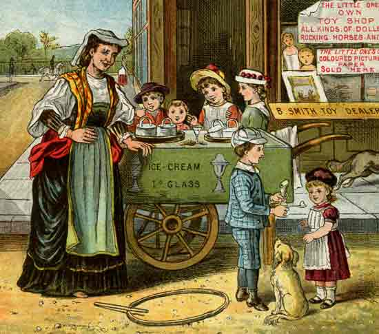 Victorian-Ice-Cream-Vendor