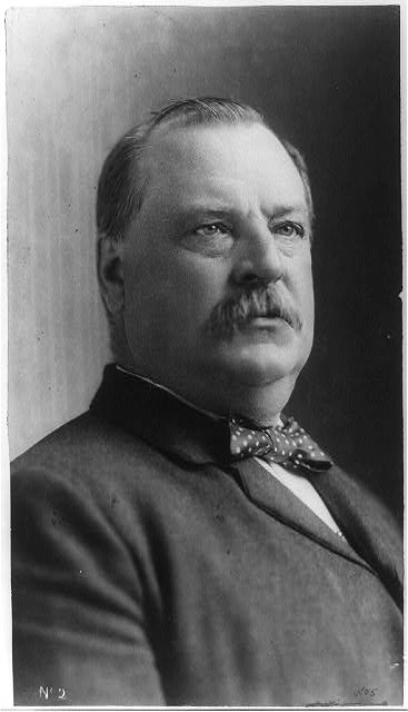 Grover Cleveland, ca. 1892. (US Library of Congress)