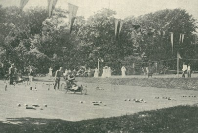 Sports involving people with disabilities date to at least the 1800s, and likely earlier. The 1923 sports day at the Royal Star and Garter home in Richmond, Surrey, pictured here, is one of the earliest records of a sports event involving wheelchairs.