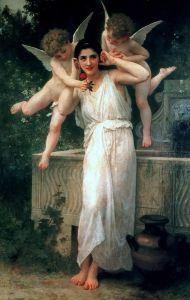 """William-Adolphe Bouguereau, """"Youth"""" (1893)"""