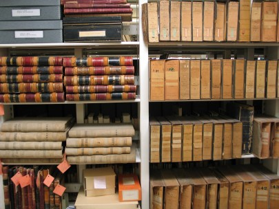 Adventures in the Berlin Archives