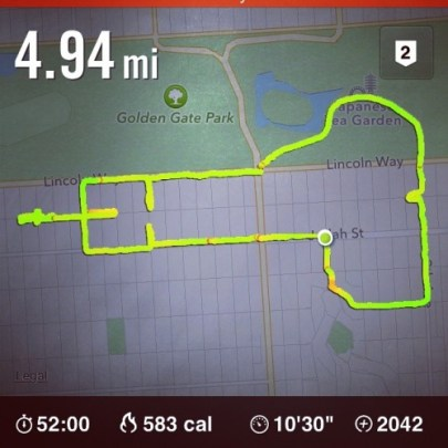 """""""Today's Run Was Hard,"""" June 15, 2014. (Claire Wyckoff/Tumblr)"""